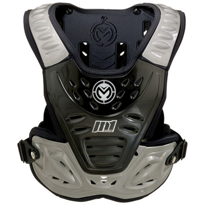 Moose Racing M1 Roost Deflector Adult Stealth/Grey