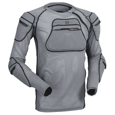 Moose Racing XC1 Body Armor Large/X-Large Grey