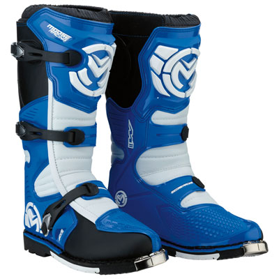 Moose Racing M1.3 Boots Size 13 Blue