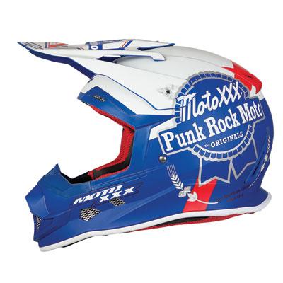 Moto XXX PBX Helmet Large Blue/White