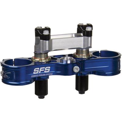 Neken SFS Upper Clamp 1 1/8  Bars Anodized Blue