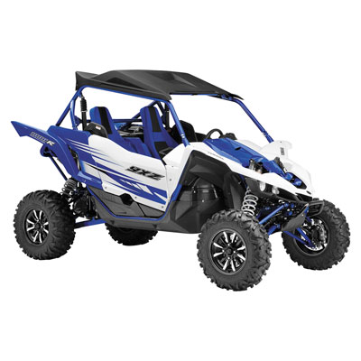 New Ray Die-Cast Yamaha YXZ1000R Replica 1:18 Scale Blue