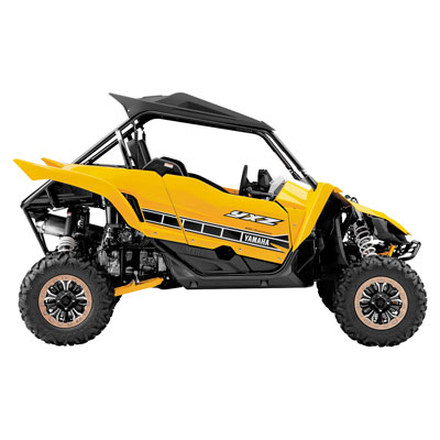 New Ray Die-Cast Yamaha YXZ1000R Replica 1:18 Scale Yellow