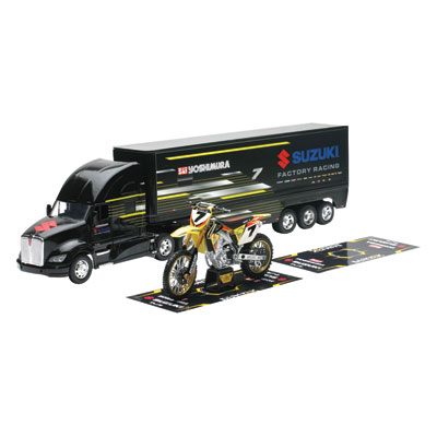 New Ray Die-Cast Suzuki James Stewart Yoshimura Gift Set