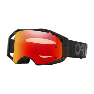 Oakley Airbrake Goggle  Factory Pilot Blackout Frame/Prizm Torch Iridium Lens