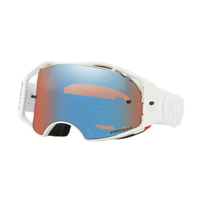 Oakley Airbrake Goggle  Factory Pilot Whiteout Frame/Prizm Sapphire Iridium Lens