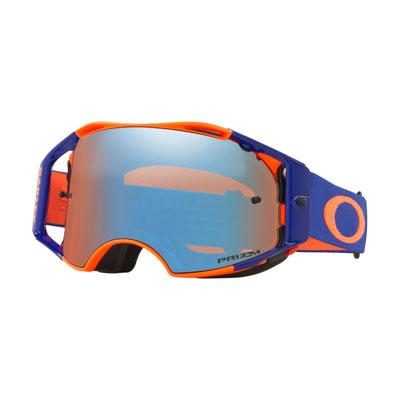 Oakley Airbrake Goggle  Flo Orange Blue Frame/Prizm MX Sapphire Iridium Lens