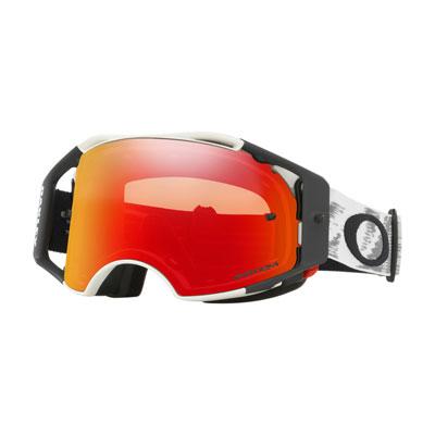 Oakley Airbrake Goggle  Matte White Speed Frame/Prizm MX Torch Iridium Lens