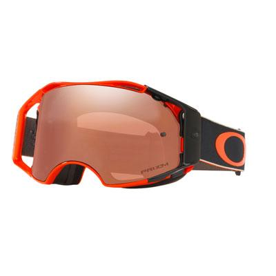 Oakley Airbrake Goggle  Ryan Dungey Fastlines Orange Frame/Prizm Black Iridium Lens