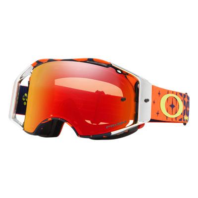 Oakley Airbrake Goggle  TLD Megaburst Org Navy Frame/Prizm Torch Iridium Lens