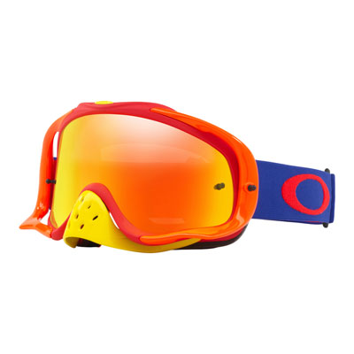 Oakley Crowbar Goggle  Flo Blue Red Frame/Fire Iridium Lens