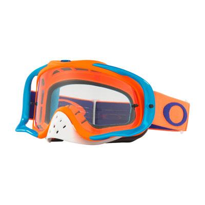 Oakley Crowbar Goggle  Flo Orange Blue Frame/Clear Lens