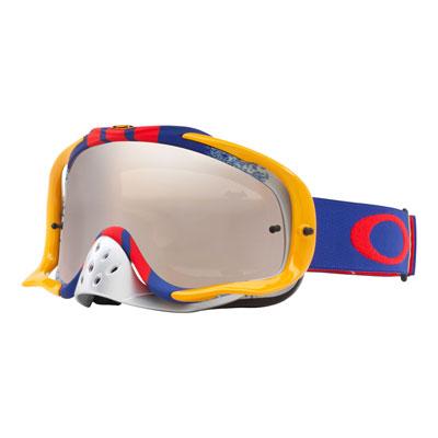 Oakley Crowbar Goggle  Pinned Race RB Frame/Black Iridium Lens