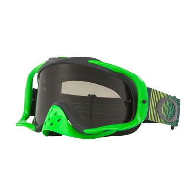 Oakley Crowbar Goggle  Shockwave Green Grey Frame/Dark Grey Lens