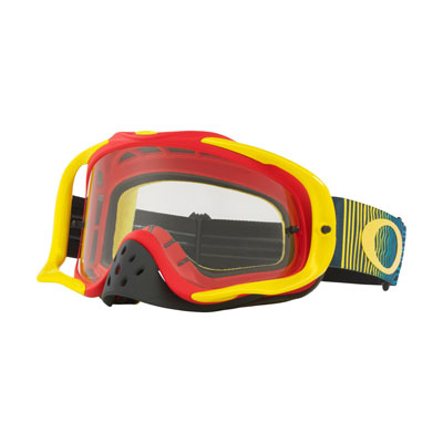 Oakley Crowbar Goggle  Shockwave RYB Frame/Clear Lens