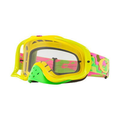 Oakley Crowbar Goggle  Thermo Camo PYG Frame/Clear Lens