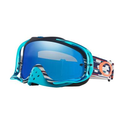 Oakley Crowbar Goggle  TLD Code RWB Frame/Black Ice Iridium Lens