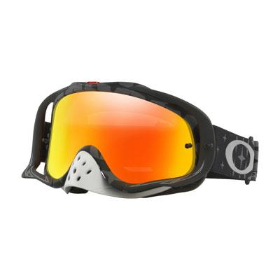 Oakley Crowbar Goggle  TLD Megaburst Black Frame/Fire Iridium Lens