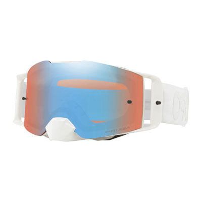 Oakley Front Line Goggle  Factory Pilot Whiteout Frame/Prizm Sapphire Iridium Lens