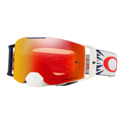 Oakley Front Line Goggle  High Voltage Red Navy Frame/Prizm Torch Iridium Lens