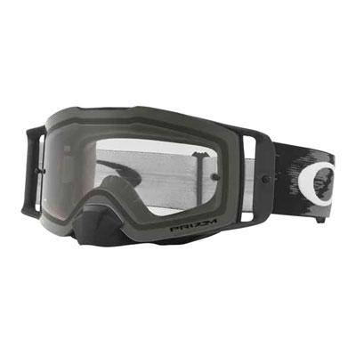 Oakley Front Line Goggle  Matte Black Speed Frame/Clear Lens