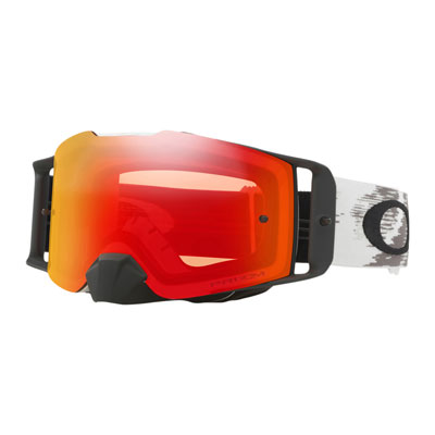 Oakley Front Line Goggle  Matte White Speed Frame/Prizm MX Torch Iridium Lens
