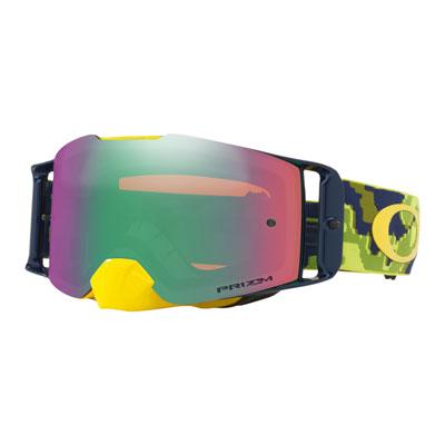 Oakley Front Line Goggle  Thermo Camo Green Yellow Frame/Prizm Jade Iridium Lens