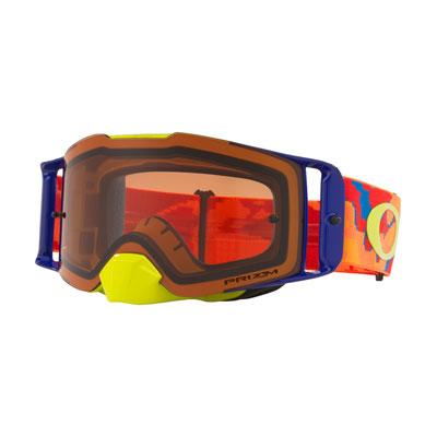 Oakley Front Line Goggle  Thermo Camo Orange Red Frame/Prizm Bronze Lens