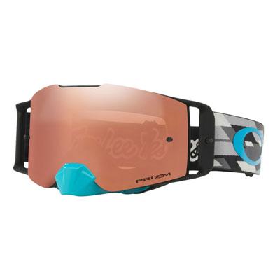 Oakley Front Line Goggle  TLD Starburst Blue Org Frame/Prizm Sapphire Iridium Lens