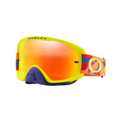 Oakley O2 MX Goggle  Thermo Camo BOG Frame/Fire Iridium Lens