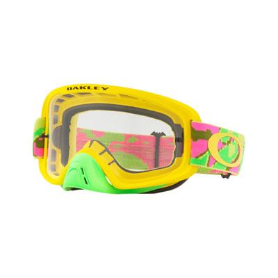 Oakley O2 MX Goggle  Thermo Camo PYG Frame/Clear Lens