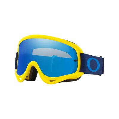 Oakley O Frame Goggle  Flo Yellow Navy Frame/Black Ice Iridium Lens