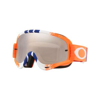 Oakley O Frame Goggle  Pinned Race Org Blue Red Frame/Black Iridium Lens