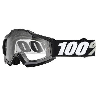 100% Accuri Goggle  Tornado Frame/Clear Lens