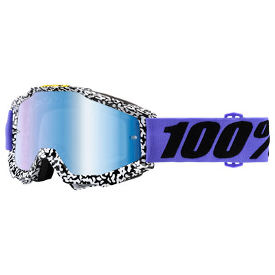 100% Accuri Goggle  Brentwood Frame/Blue Mirror Lens