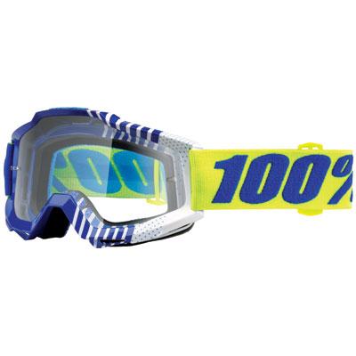 100% Accuri Goggle  Sundance Frame/Clear Lens