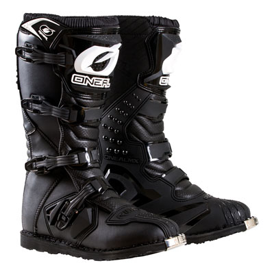 O'Neal Racing Rider Boots Size 15 Black