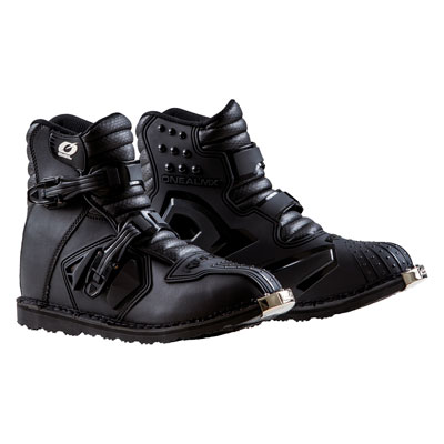 O'Neal Racing Rider Shorty Boots Size 14 Black