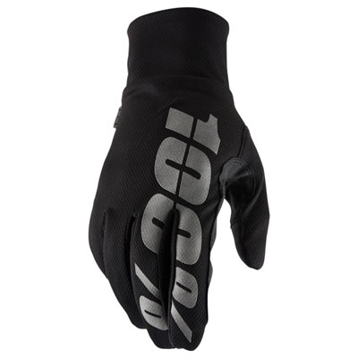 100% Hydromatic Gloves Medium Black
