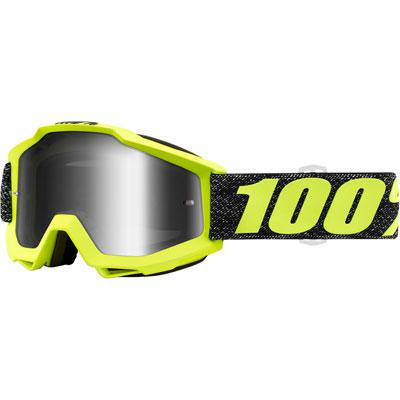 100% Accuri Goggle  Tresse Frame/Silver Mirror Lens