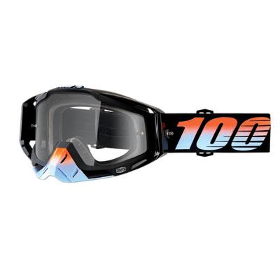 100% Racecraft Goggle  Starlight Frame/Clear Lens