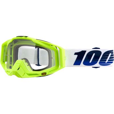 100% Racecraft Goggle  GP21 Frame/Clear Lens