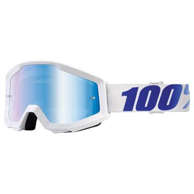 100% Strata Goggle  Equinox Frame/Blue Mirror Lens