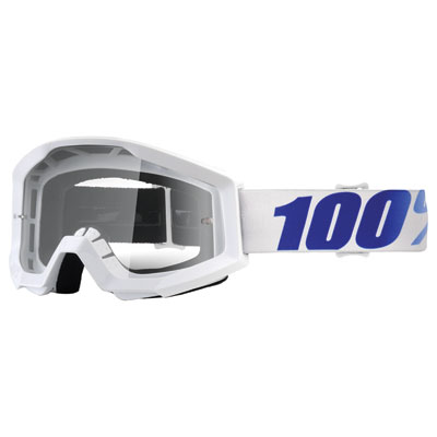 100% Strata Goggle  Equinox Frame/Clear Lens