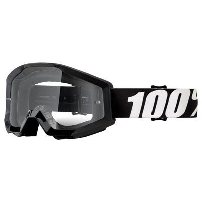 100% Strata Goggle  Outlaw Frame/Clear Lens