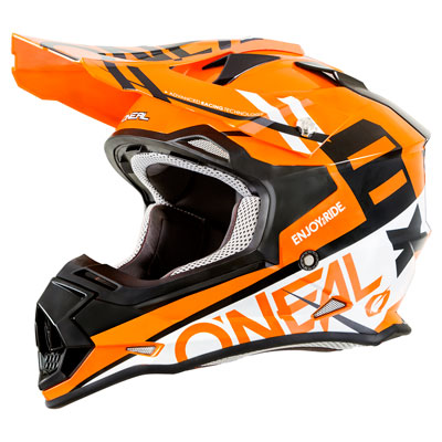 O'Neal Racing 2 Series Spyde Helmet XX-Large Orange/White