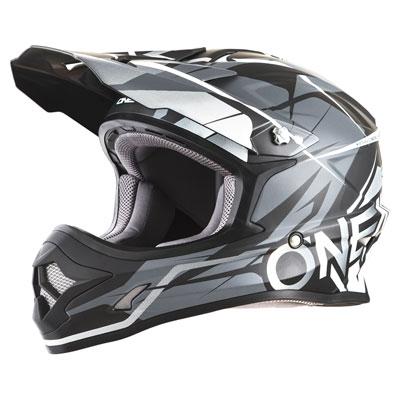 O'Neal Racing 3 Series Freerider Helmet Large Black/Grey