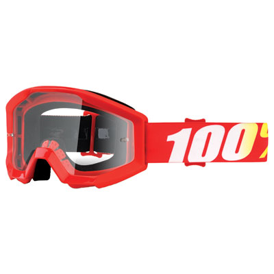 100% Youth Strata Goggle  Furnace Frame/Clear Lens