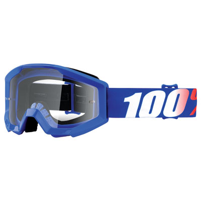 100% Youth Strata Goggle  Nation Frame/Clear Lens