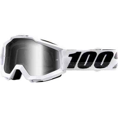 100% Accuri Goggle  Galactica Frame/Silver Mirror Lens